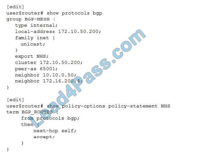 juniper jn0-648 certification exam q1