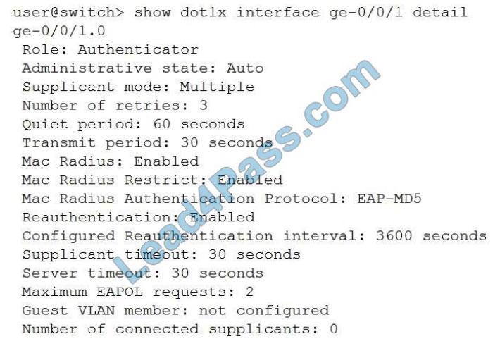 juniper jn0-648 certification exam q2