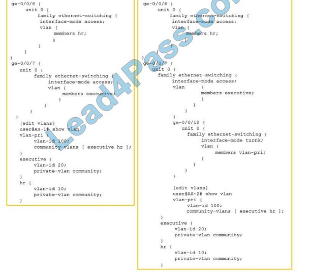 juniper jn0-648 certification exam q9-1